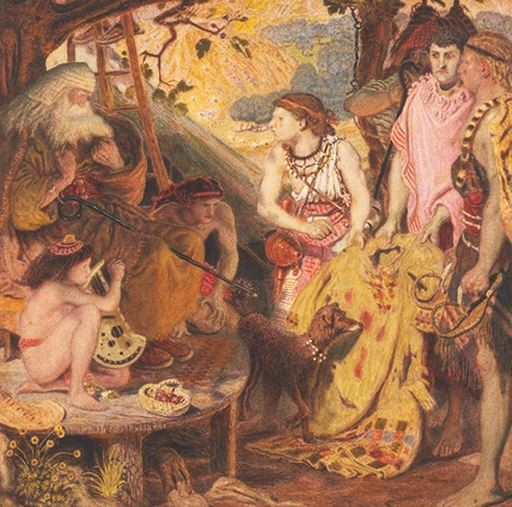 Ford Madox Brown, The Coat of Many Colors, 1867