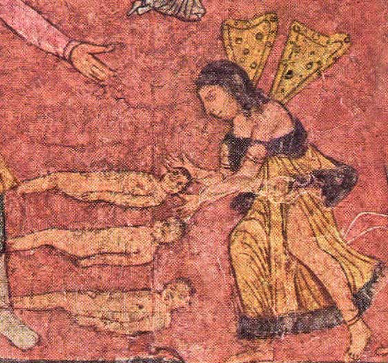 Spirit enlivening an inert body, Dura Europos