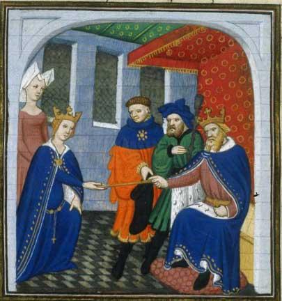 מתוך מקרא ההיסטוריאל, המאה ה 15