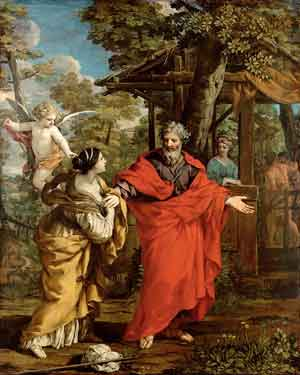 Pietro da Cartona, The Return of Hagar, ca. 1637