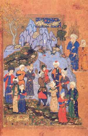 Mir Ali, Joseph and his brothers, 16th century