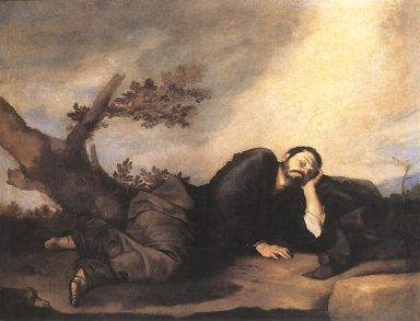 Jacob`s Dream, Jose de Ribera, (Spain, 1639)