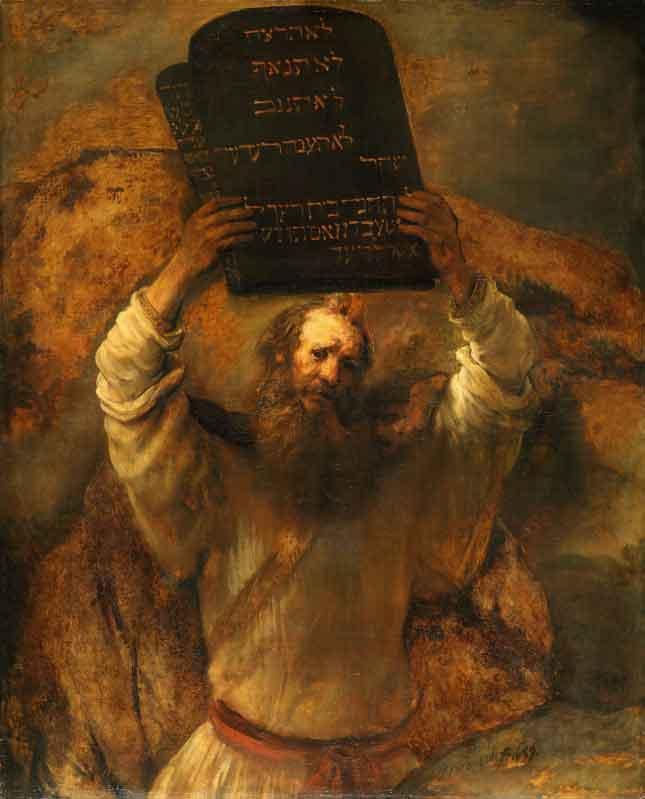 משה משבר את הלוחות